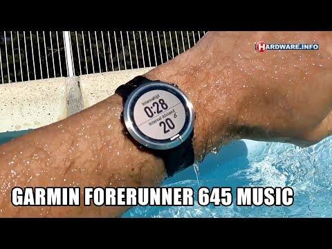 Garmin Forerunner 645 music review: benchmark jezelf - Hardware.Info TV (4K UHD)