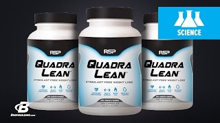 RSP Quadralean is a stimulate-free weight-loss product that contain...