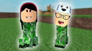 ROBLOX: OLD MAN AND AUNT GRACE TURNED CREEPER AND BLEW IT ALL UP! (CHAOS Creeper)