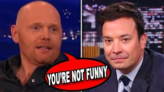 10 Times Bill Burr Clapped Back At Talk Show Hosts...