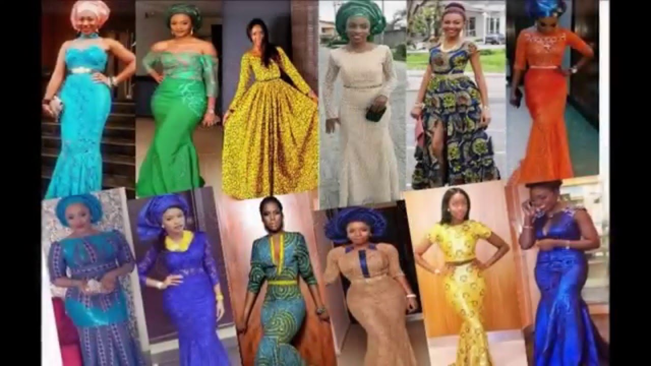 Long Gown Styles African Nigerian Style Occasions Outfit Ideas