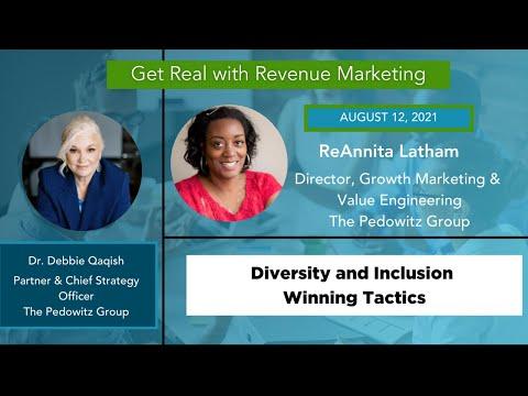 Diversity & Inclusion Winning Tactics | ReAnnita Latham