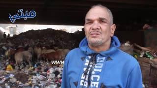 فيديو| مسابك الدائرى زبالة.. والأهالى: نظرة رحمة يا مسؤولين