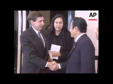 JAPAN: OSAKA: APEC SUMMIT:  WORLD LEADERS ARRIVE