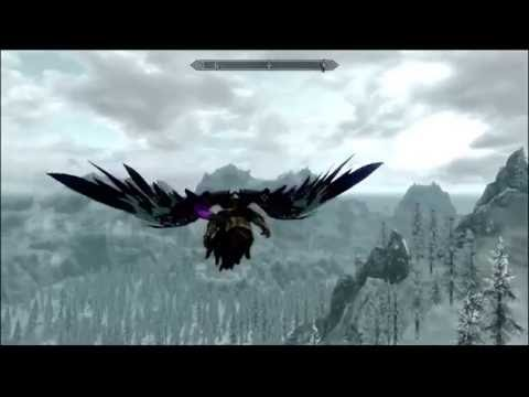 Skyrim - Pharlan Race mod Appearance options with flying mod