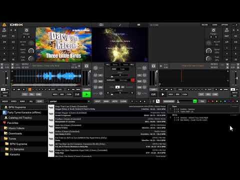 PCDJ DEX 3 | Automatic Karaoke Filler Music Player Feature