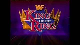 Wwf King Of The Ring 2019:Mikey Whipwreck vs Booker T