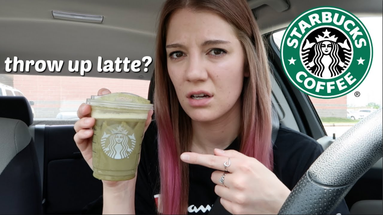 I ordered the NASTIEST drink at Starbucks