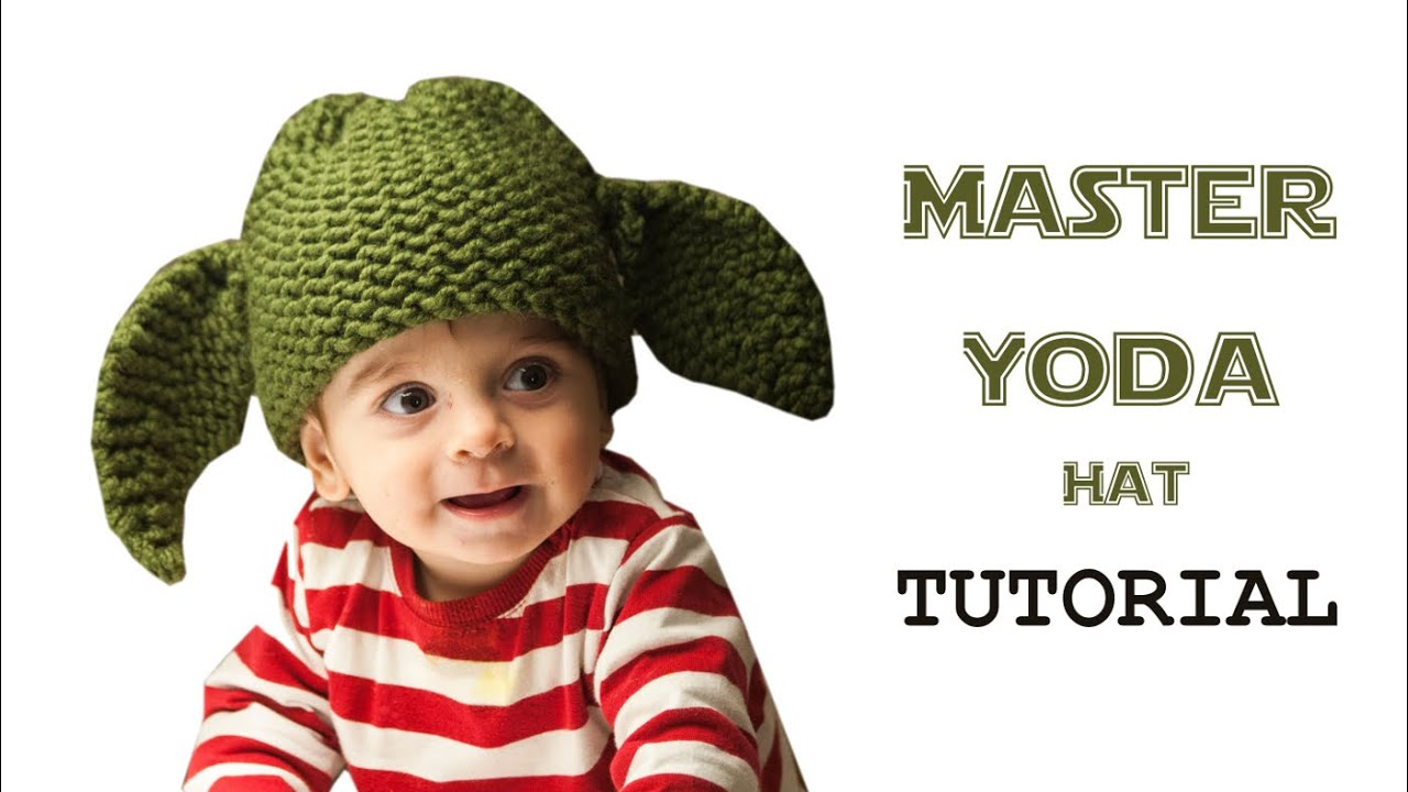 How to Loom Knit a Star Wars Master Yoda Hat (DIY Tutorial) - YouTube