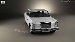 Mercedes-Benz W114 1968 3D model by Hum3D.com