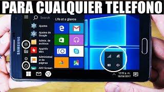 Windows 10 Para Cualquier Telefono Android Sin Root!!