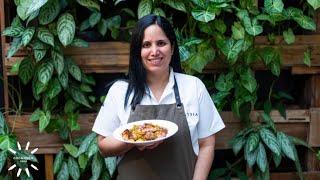 Con creatividad se para la olla: Arlette Eulert te enseña a preparar Chaufa charapa