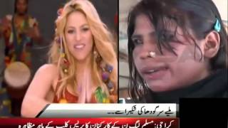 After Justin Girls, Samaa Found Shakira from Sargodha!