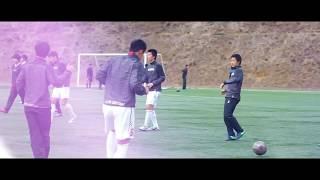 矢板中央高校サッカー部 2018選手権壮行会 スポ-ツ