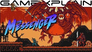 12 Minutes of Ninja Gaiden-like Indie Game: The Messenger (Nintendo Switch)