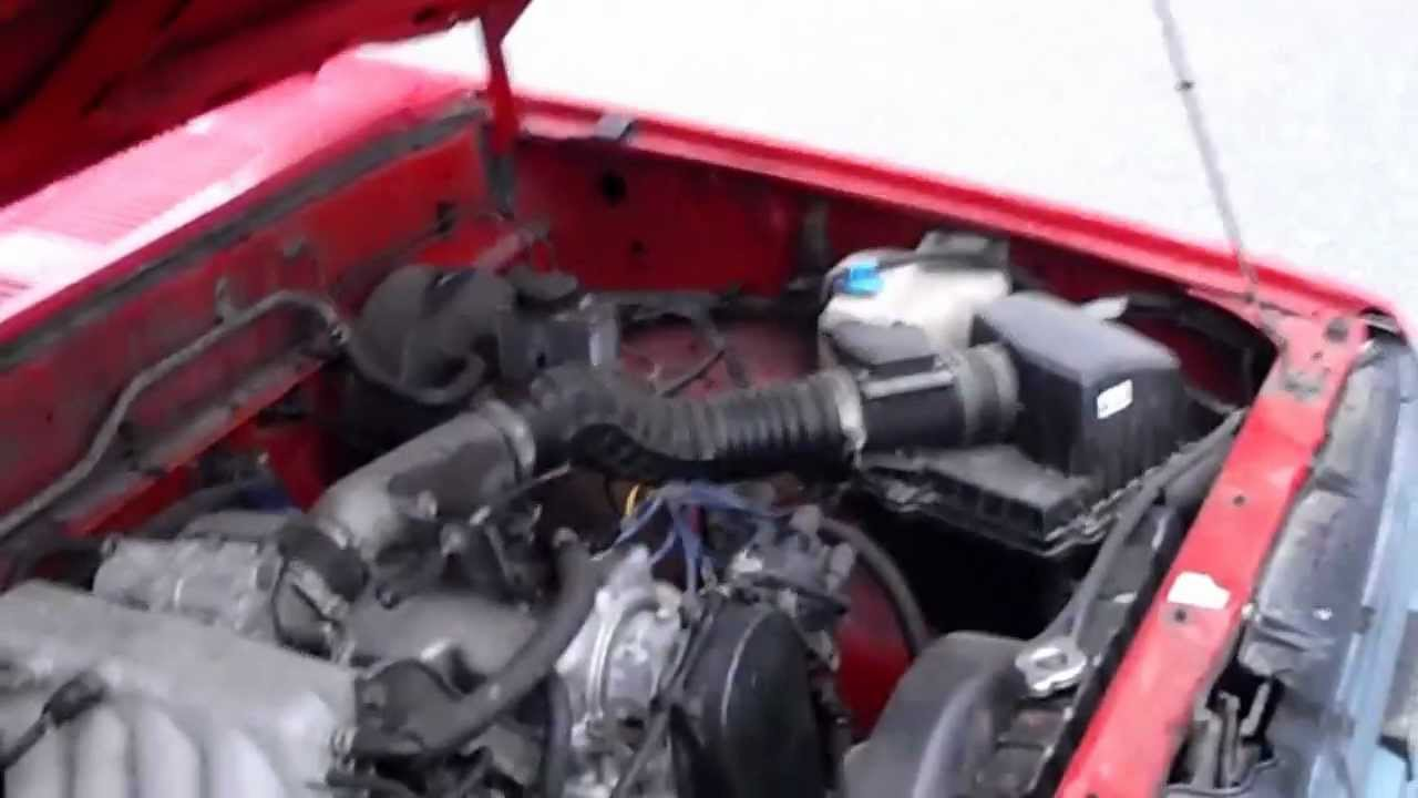 110 Plug Wiring Diagram Narva 7 Pin Trailer Australia This Old Car: Mazda B2200 - Youtube