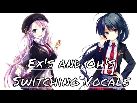 Ex's and Oh's - Nightcore | Switching Vocals