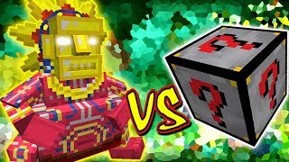 DEUS SOL VS. LUCKY BLOCK DARK (MINECRAFT LUCKY  BLOCK CHALLENGE SUN)