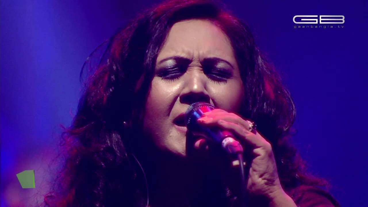 AMI AAKASH HOBO - FAHMIDA NABI : WIND OF CHANGE [ PRE-SEASON ] at GAAN BANGLA TV