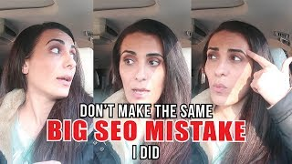 Etsy & Amazon SEO lesson - I made a mistake! CAR CHAT VLOG
