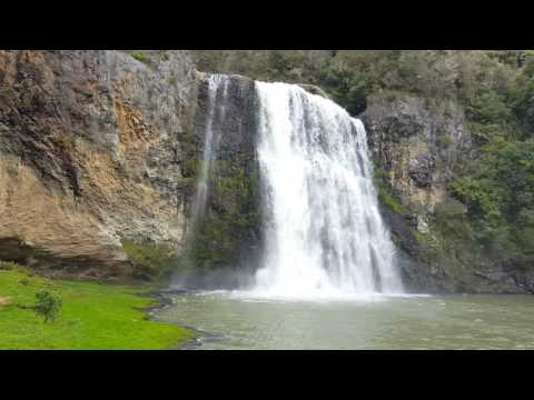 A walk up to the Hunua falls in winter. Papakura, Auckland, New Zealand, 2015