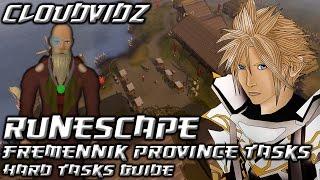 Runescape Fremennik Province Hard Tasks Guide HD