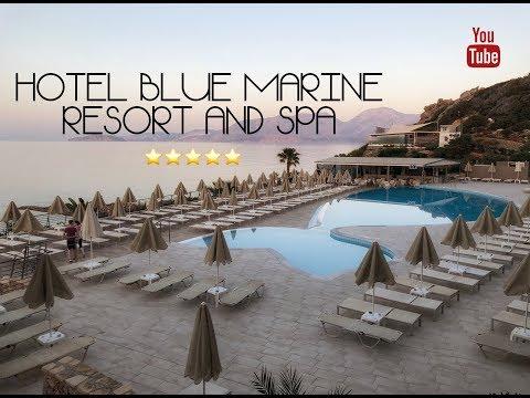 Hotel Blue Marine Resort and Spa (свежий обзор на русском май 2018) 4K