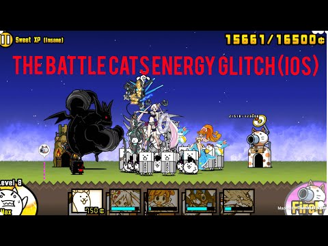 THE BATTLE CATS ENERGY GLITCH (IOS)