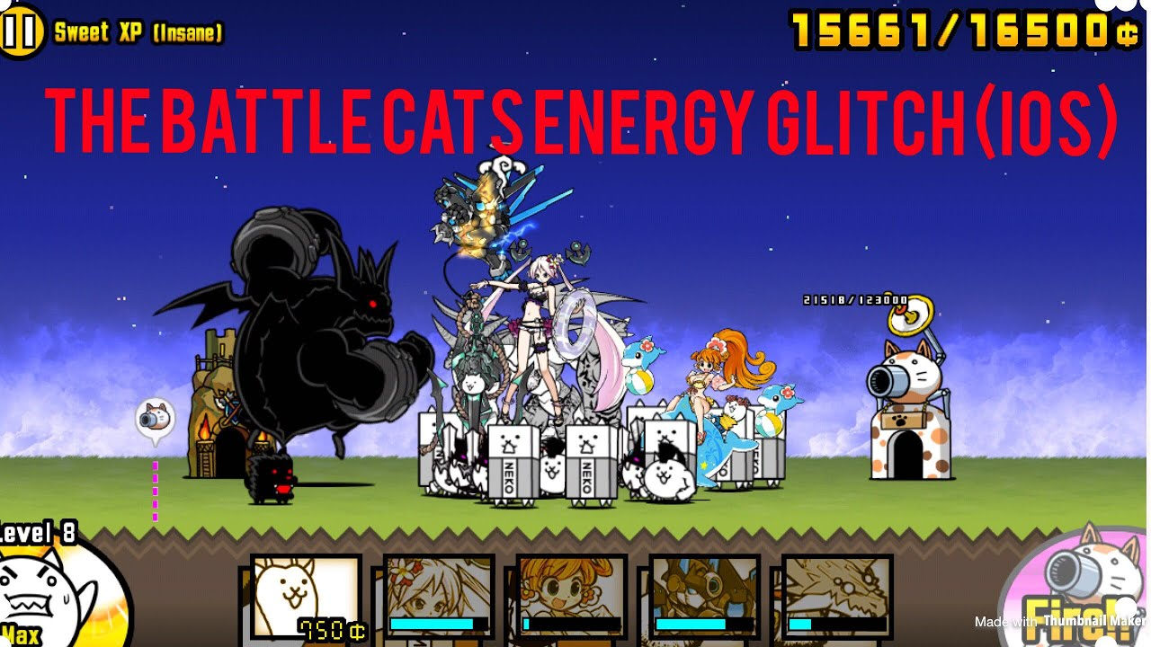 How To Infinite Energy And Cat Food In Battle Cats