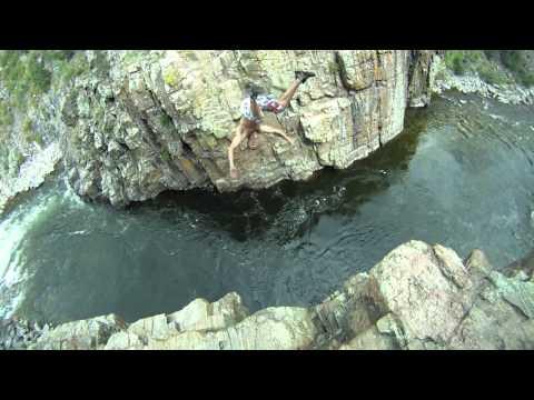 Cliff Jump  Colorado Style