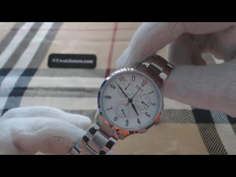 Women's Fossil Abilene Chronograph Steel Watch CH3017