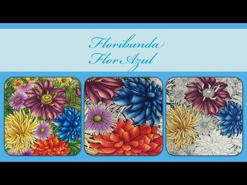 Floribunda - Flor Azul (Blue Flower)