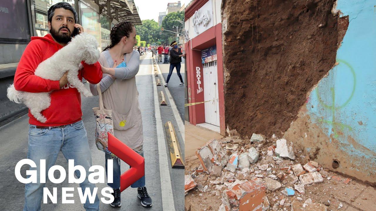 Earthquake Shakes Mexico, Killing at Least Four