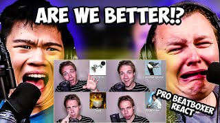 PRO BEATBOXER React | ONE GUY, 40 SOUND EFFECTS - Black Gryph0n