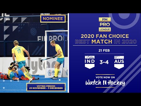 India V Australia | Match 23 | Men's FIH Hockey Pro League Highlights