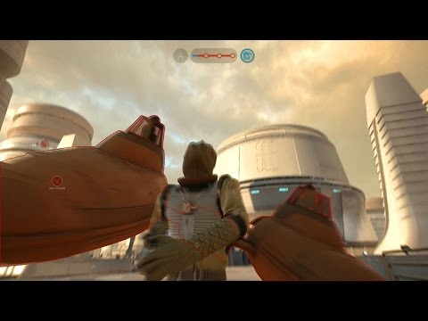 Star Wars Battlefront - Bossk Vs. Cloud Car!! 70+ Kills!!