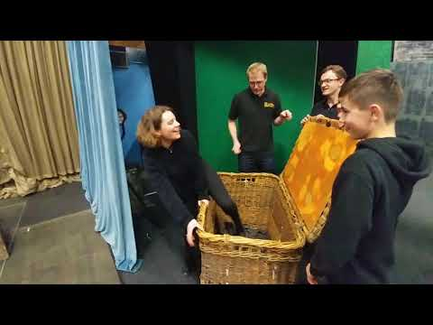 Backstage at Annie (Bridgnorth Musical Theatre Company's 2017 Production)