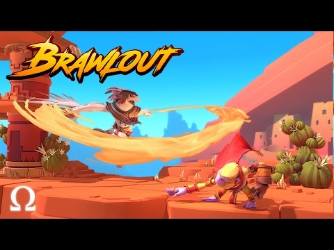 SUPER SMASH NOOBS, EAGLE MAN OP! | Brawlout Fighting Game Ft. Delirious, Nogla, Bryce |