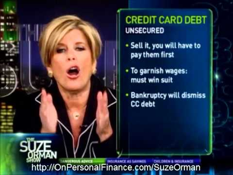 Suze Orman – Using HELOC as Balance Transfer for Your Credit Card is a Very Dangerous Thing to Do