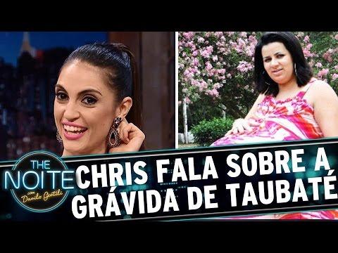 Chris Flores revela como desmascarou a Grávida de Taubaté | The Noite (07/03/17)