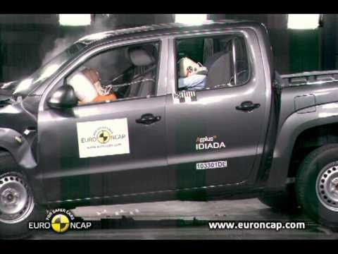 new euro ncap crash test volkswagen amarok 2011 youtube. Black Bedroom Furniture Sets. Home Design Ideas