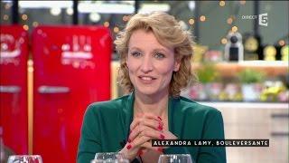 Alexandra Lamy, bouleversante - C à vous - 02/03/2016
