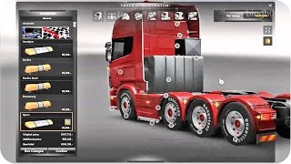 Scania Mega Mod Tuning +Download ETS2 (Euro Truck Simulator 2)