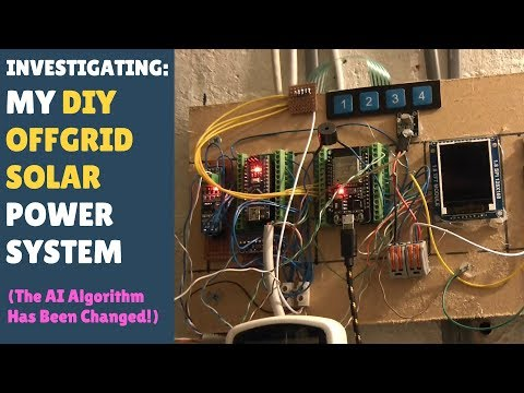INVESTIGATING: My DIY Offgrid Solar Power System - New AI Algorithm!
