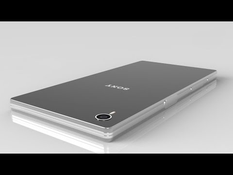 Sony Xperia Z6 | New Metal Design | 3D Touch Concept