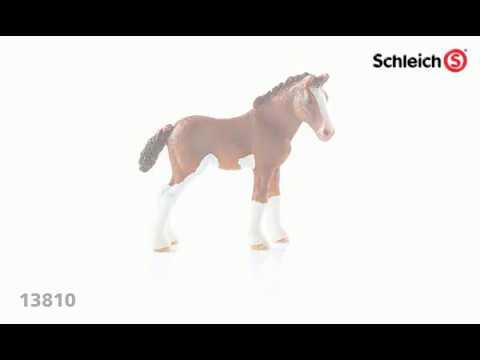 Schleich farm life 13810 clydesdale poulain