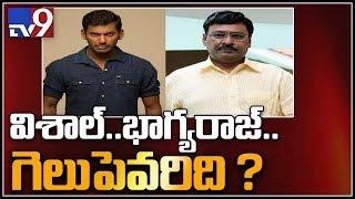 Nadigar Sangam elections : Celebrities cast their vote -TV9