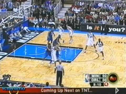 Tracy McGrady 30pts vs. Timberwolves (03.27.2003)- Up & under dunk over Joe Smith!