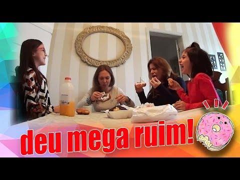 Rosquinha Falsa! Deu Mega Ruim! com Sarinha e Mafer