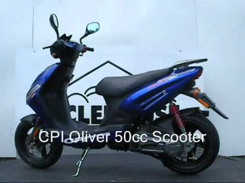Cpi Oliver 50cc Scooter No Motorcycle License Required In New Jersey
